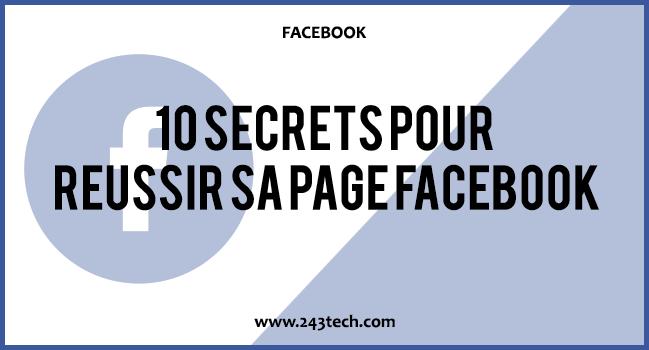 10 secrets pour réussir sa Page Facebook