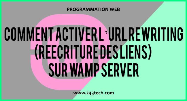 comment activer l u2019url rewriting r u00e9 u00e9criture des liens  sur wamp