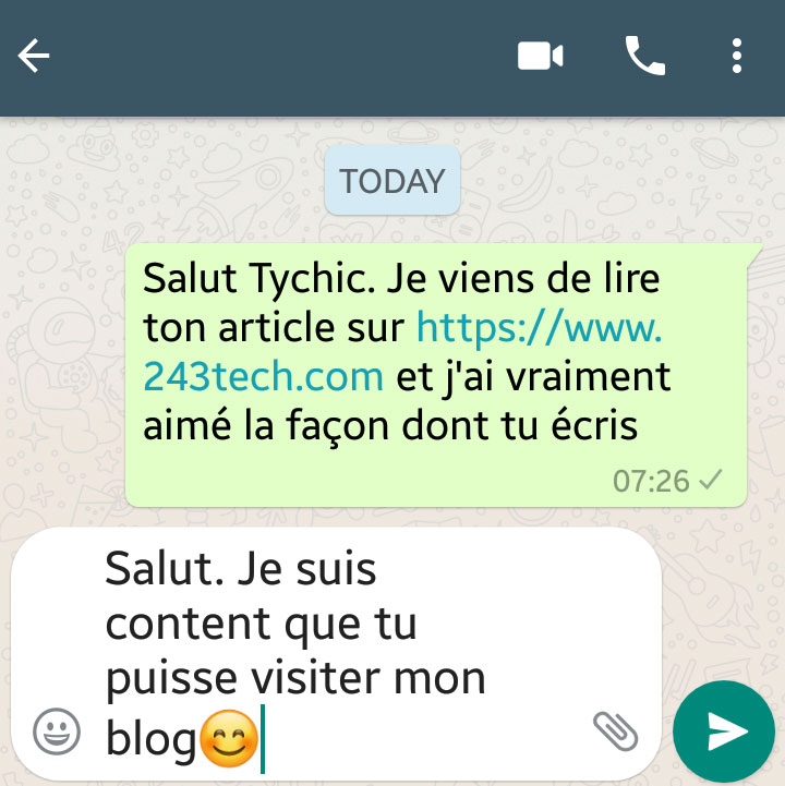 Citation Tychic Obanda
