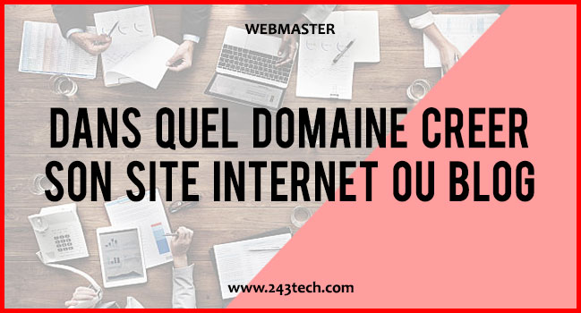 243tech astuces webmaster for Idee site internet