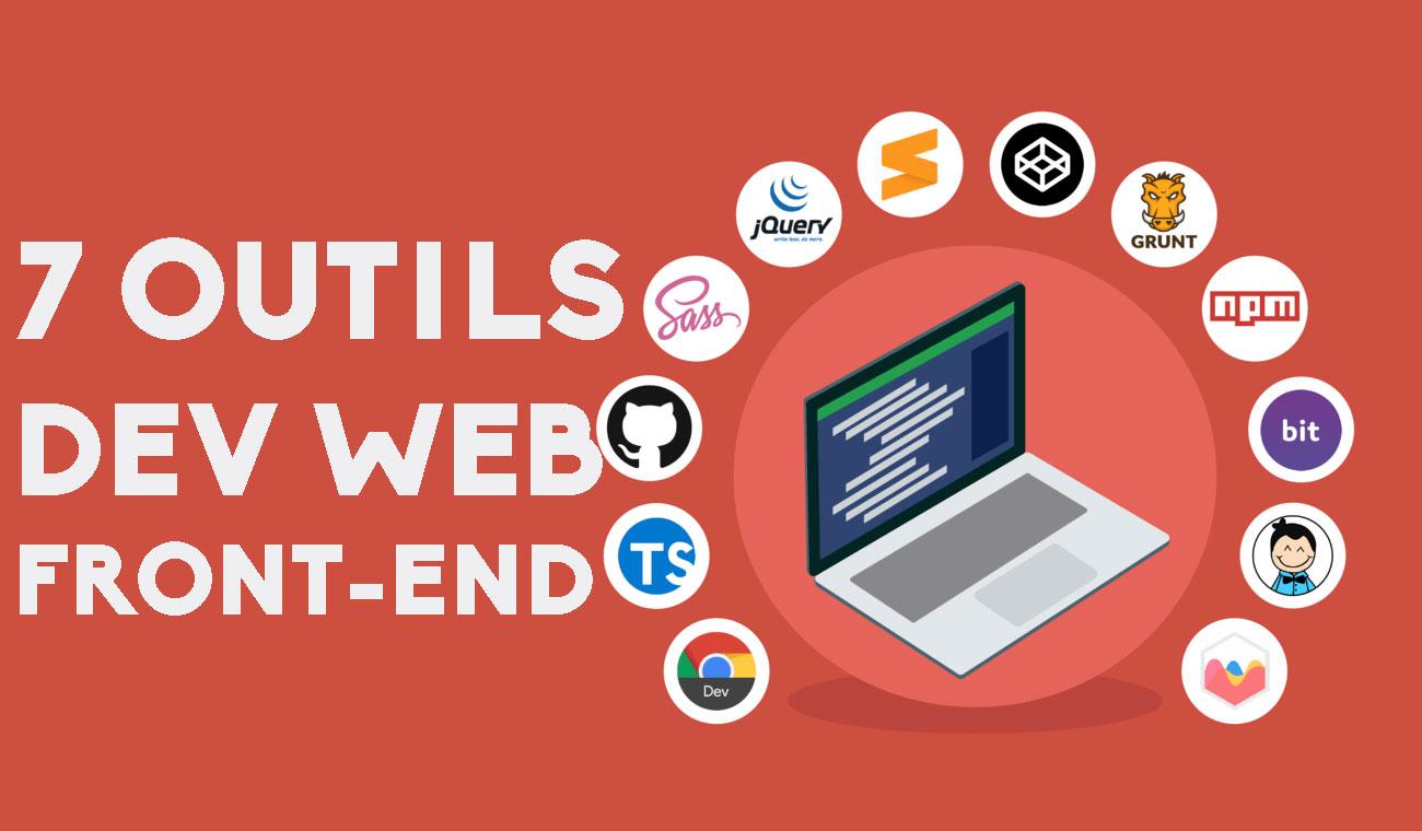 Top 7 meilleurs outils pour le développement web front-end