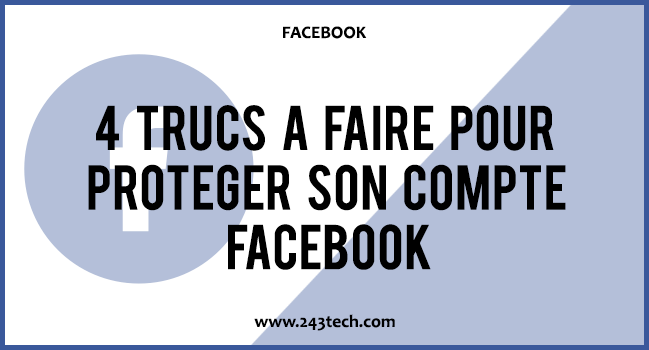 securiser son compte Facebook