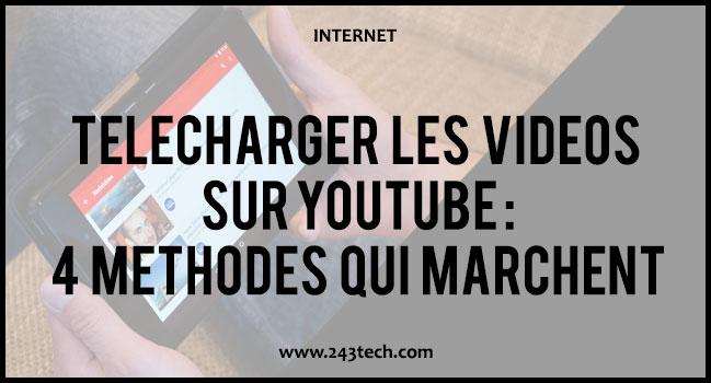Télécharger les vidéos sur Youtube : 4 méthodes qui marchent