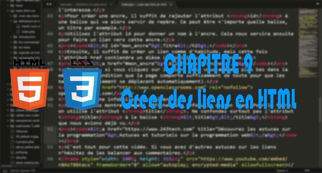 [HTML/CSS] - 9. Comment créer des liens en HTML
