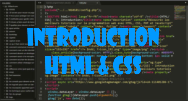 [HTML/CSS] - 1. Introduction