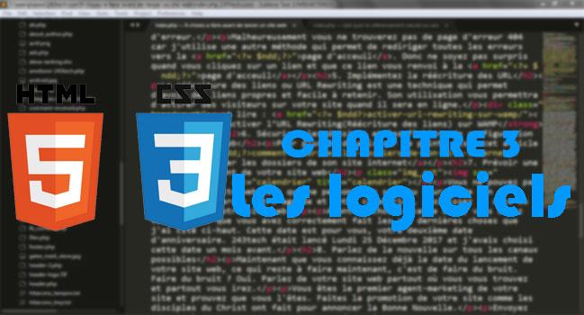 [HTML/CSS] - Chapitre 3. Les logiciels
